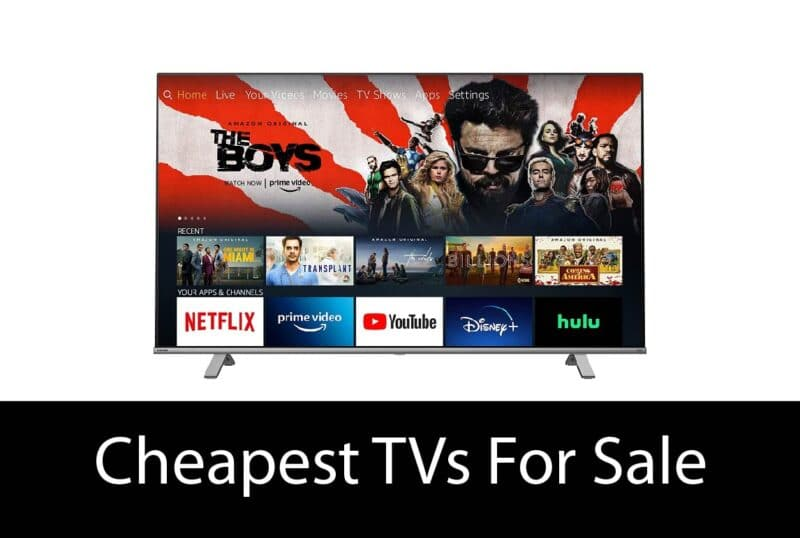 Cheapest TVs For Sale