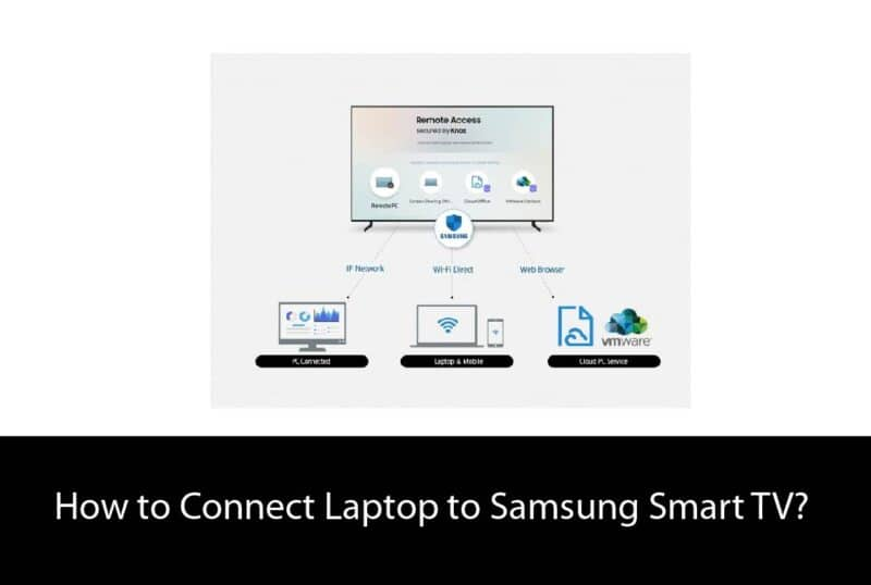 Connect Laptop to Samsung Smart TV